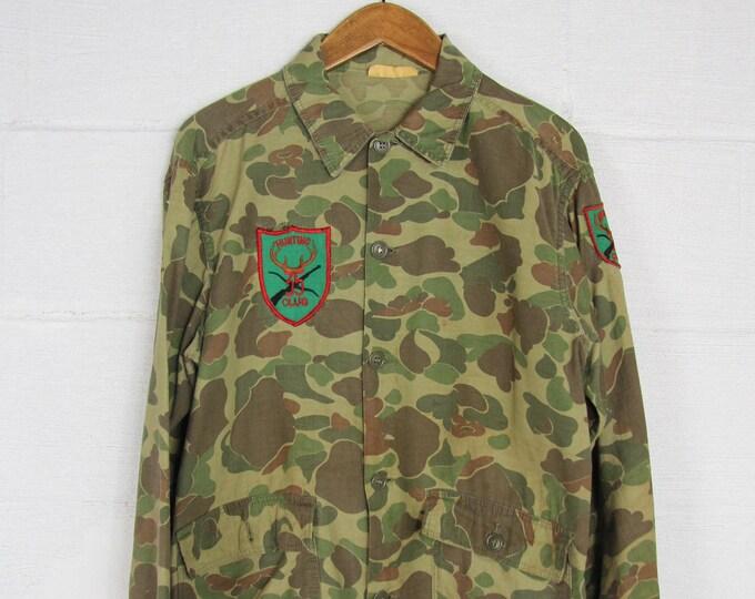 Camouflage Hunting Shirt Vintage Light Jacket Vintage Size Medium