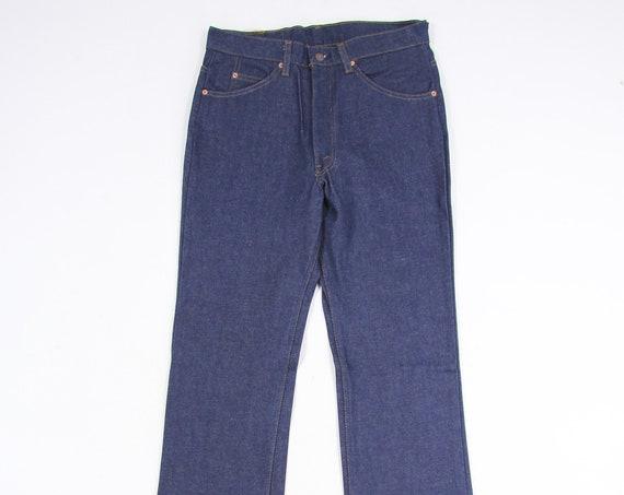 Levi's 517 Deadstock Vintage Denim Bootcut Jeans Pants Size 33x34
