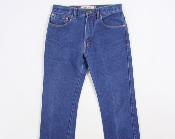 Levi's 517 Jeans Medium Wash Blue Bootcut Vintage Denim Pants 30 x 29.5