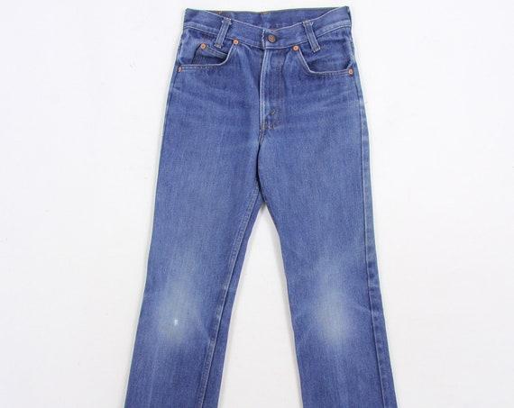 Kids Levis Faded Vintage Denim Jeans Pants Vintage Size 11 / 25.5x25.5