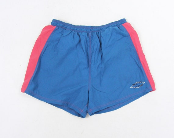 80's Men's Swim Trunks Surf Shorts Vintage Size Large