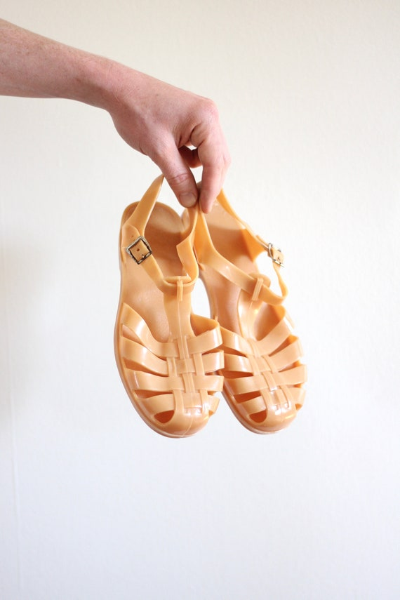 Jelly Sandals 90s Sandals Women's Size 6.5 / 7 Size 37