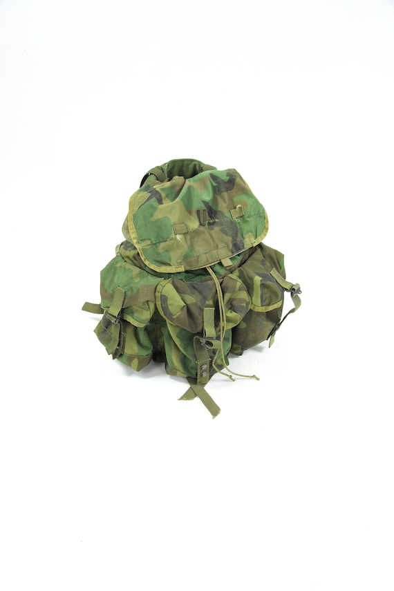 Camouflage Military Nylon Back Pack Travel Bag