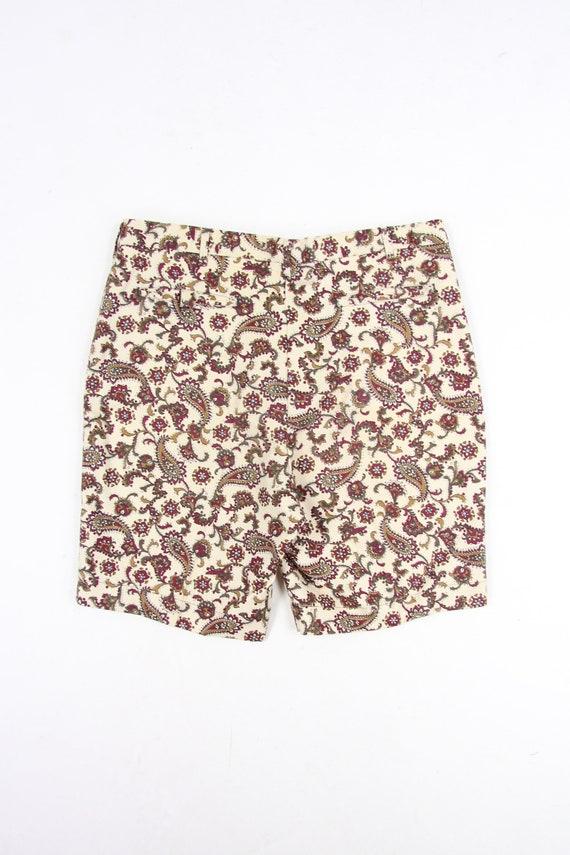 "Paisley Psychedelic 60's Farah Vintage Shorts Men's Size 36"""