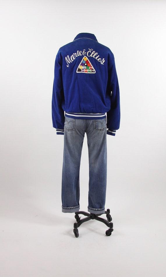 Chainstitch Pool Jacket Blue Corduroy Billiards Co