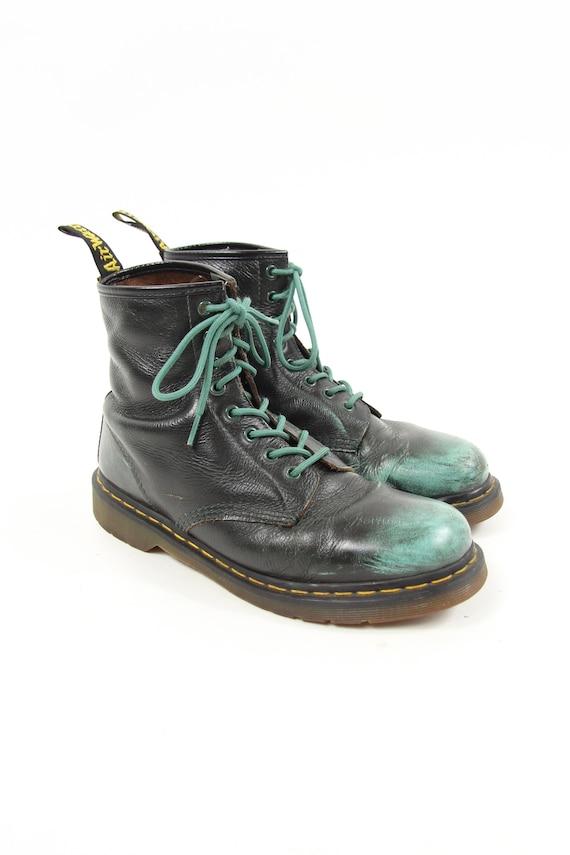 Dr. Marten Green Vintage Boots Men's Size US 10