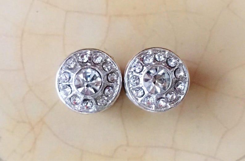 0g 4g gauges Silver and Rhinestones 6g 2g 4mm 5mm 6mm 8mm Wedding Plugs