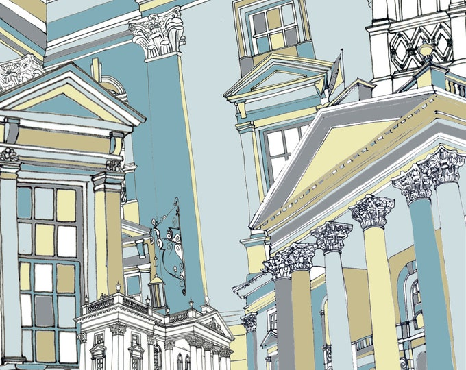 Limited Edition Giclee Print - Theatre Royal, Newcastle (large.)
