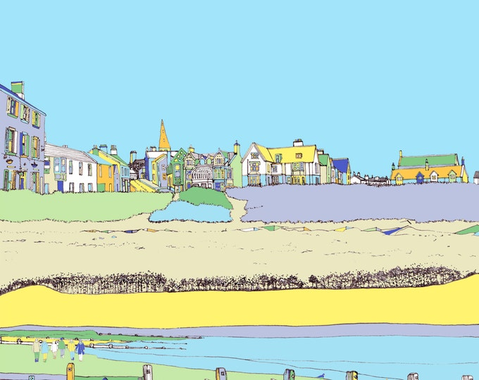 Limited Edition Giclee Print - Alnmouth, Northumberland.