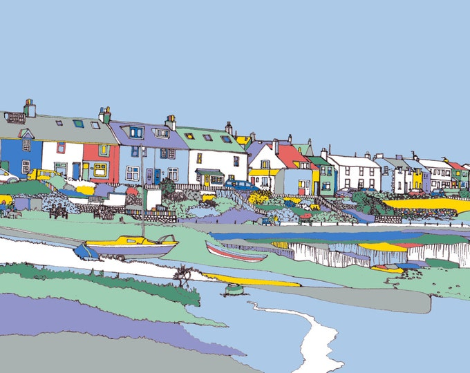 Limited Edition Giclee Print - Craster, Northumberland.