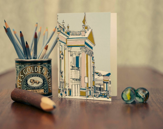 Art / Greeting Card - Theatre Royal, Newcastle upon Tyne.