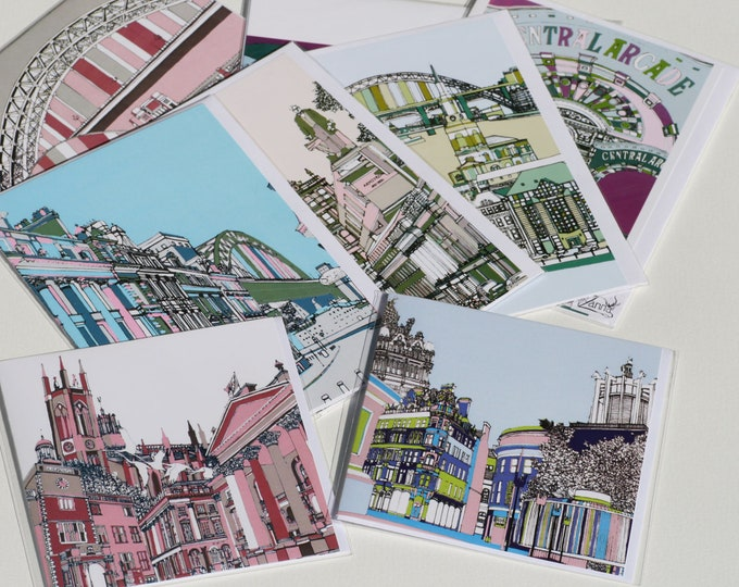 Art / Greetings Card - Set of 5 cards.