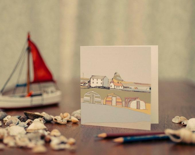 Art / Greeting Card - Lindisfarne, Northumberland.