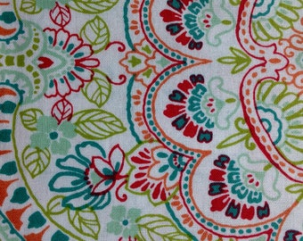 Multicolor Filigree Musings by Richloom Fabrics/Quilting Sewing Craft Fabric/HALF Yard Pricing