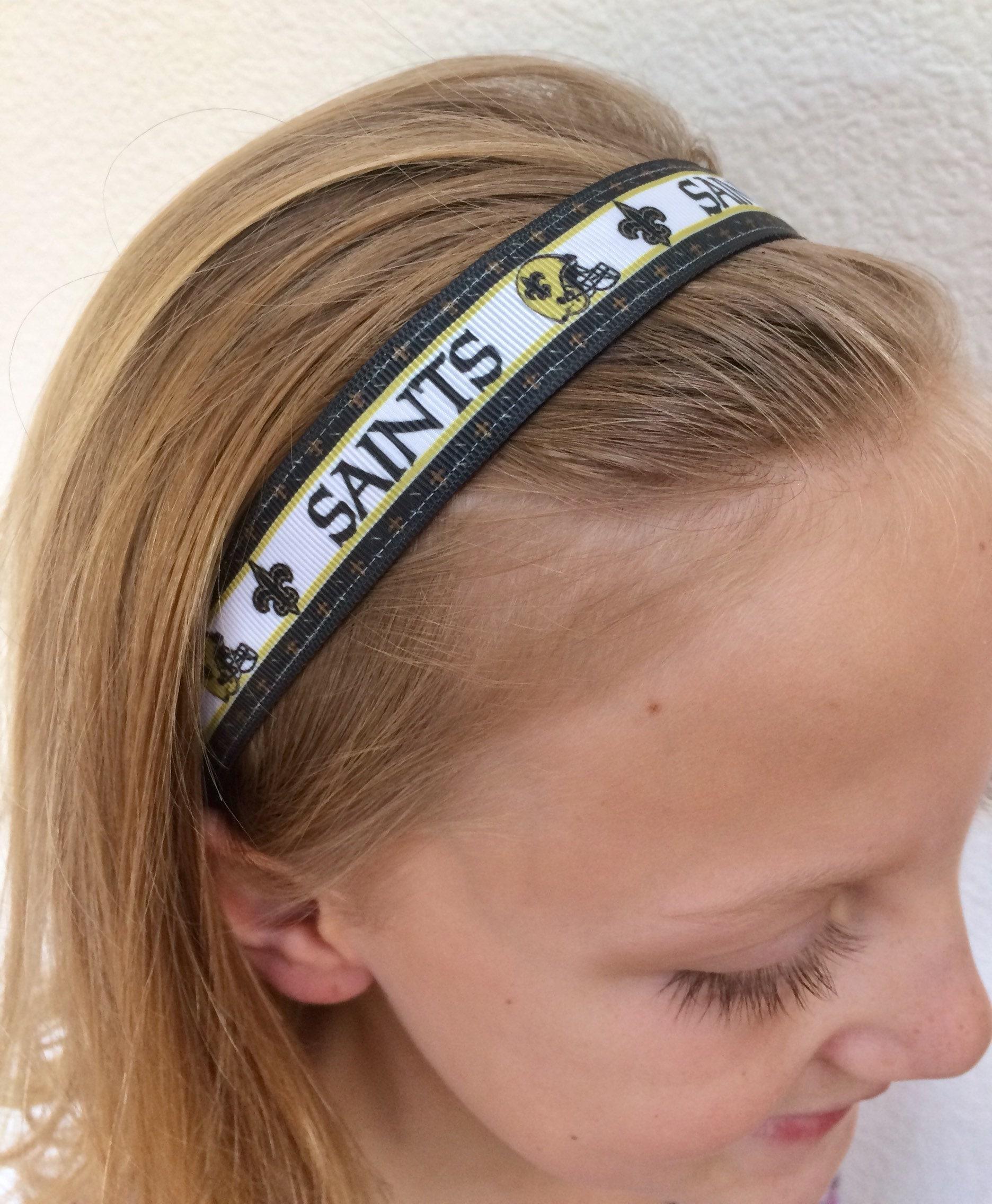 New Orleans Saints headband. Saints headband. Saints Sweaty  66bc2e5641f