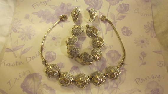 Vintage Reja Ensuite Jewelry Collection Matching B