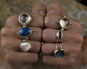One of a Kind Crystal Rings - Ready to ship