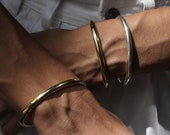 The Acorn Cuff - made in solid bronze or solid sterling silver