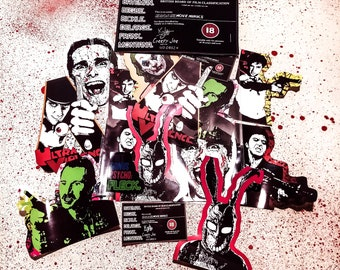 Headon Art: Movie Maniacs - Cult Film Psycho's Vinyl Sticker Pack