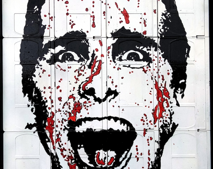 American Psycho | Signed & Mounted Canvas Print