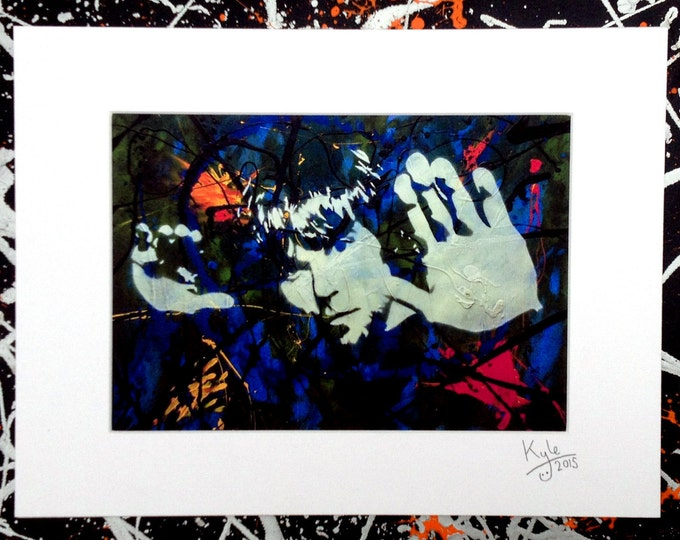 Ian Brown - Signed & mounted canvas print