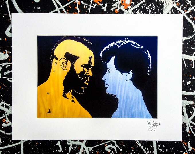 Rocky III - Signed & mounted canvas print