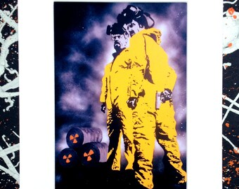 Breaking Bad - Signed & mounted canvas print