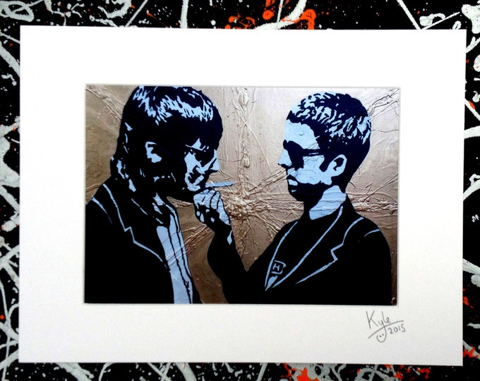 Oasis - Signed & mounted canvas print