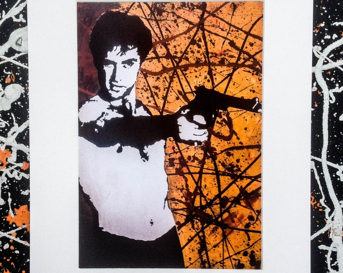 Taxi Driver - Signed & mounted canvas print