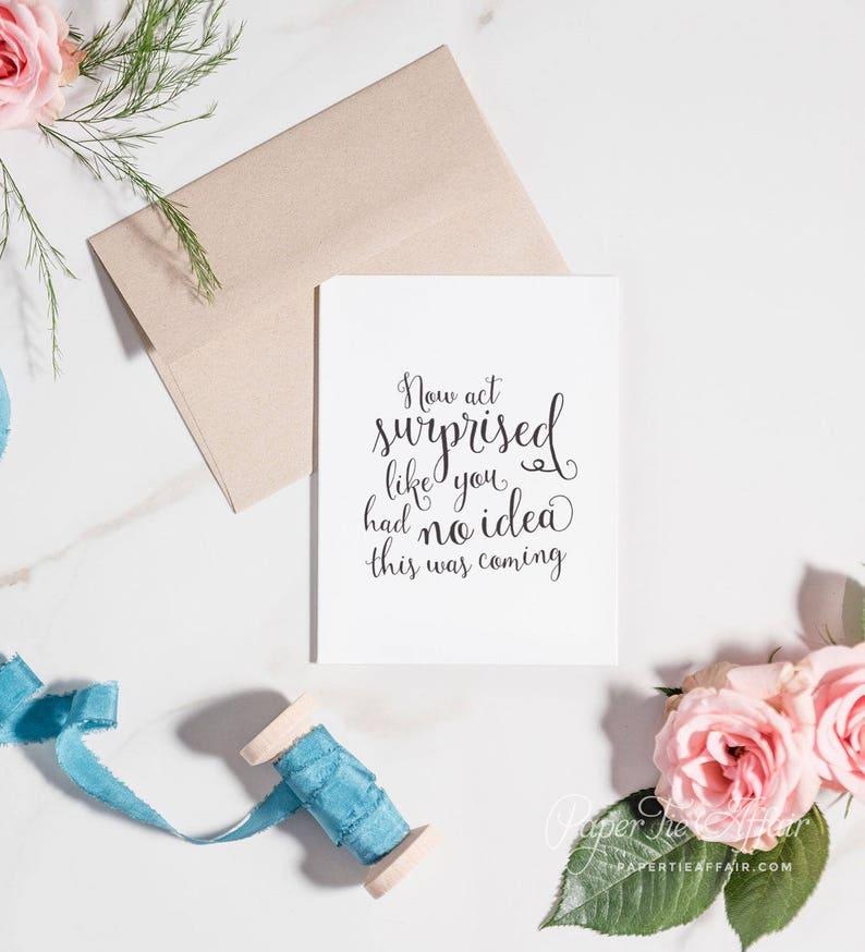 Bridesmaid Proposal Card  Will You Be My Bridesmaid Card image 0