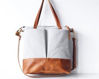 Diaper Bag Backpack, Diaper Backpack, Nappy Bag, Convertible Backpack, Leather Diaper Bag, Canvas Diaper Bag, Baby Bag, Gift for New Mum