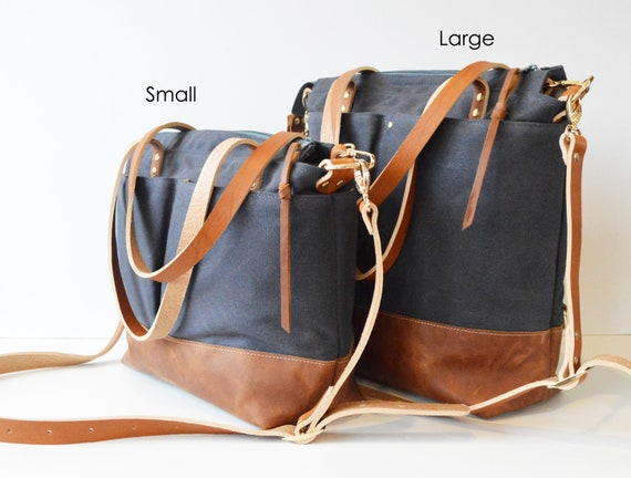 Baby Bag Leather Canvas Diaper Bag Backpack Best Diaper Bag Daddy Diaper  Bag Crossbody Backpack Diaper Bag Tan Waxed Canvas Tan Leather