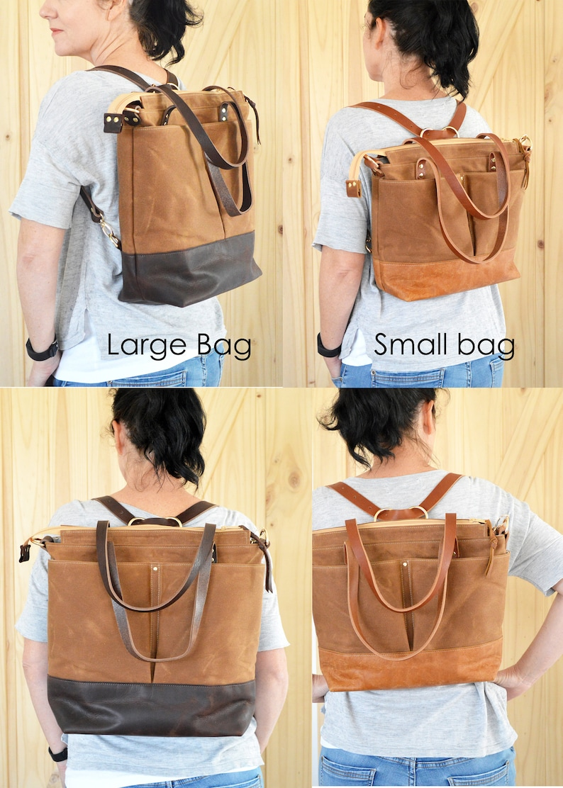 Diaper Bag Baby bag Nappy Bag Diaper Backpack Leather Diaper Tote Stylish baby bag Unisex diaper bag Sand waxed canvas and brown leather