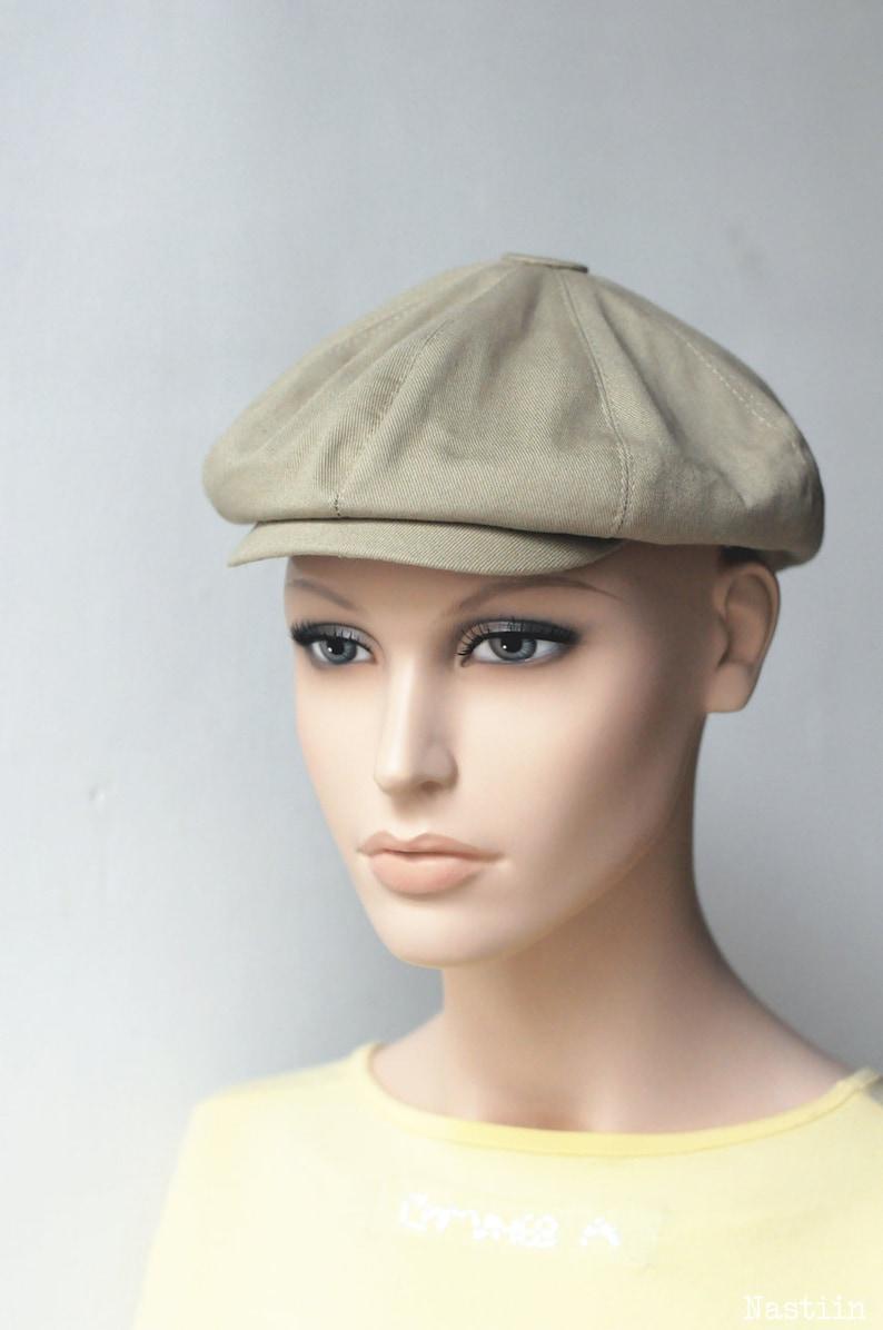 d3e595cb71a18 Toddler boy hat Beige newsboy hat Baby newsboy cap Infant hat