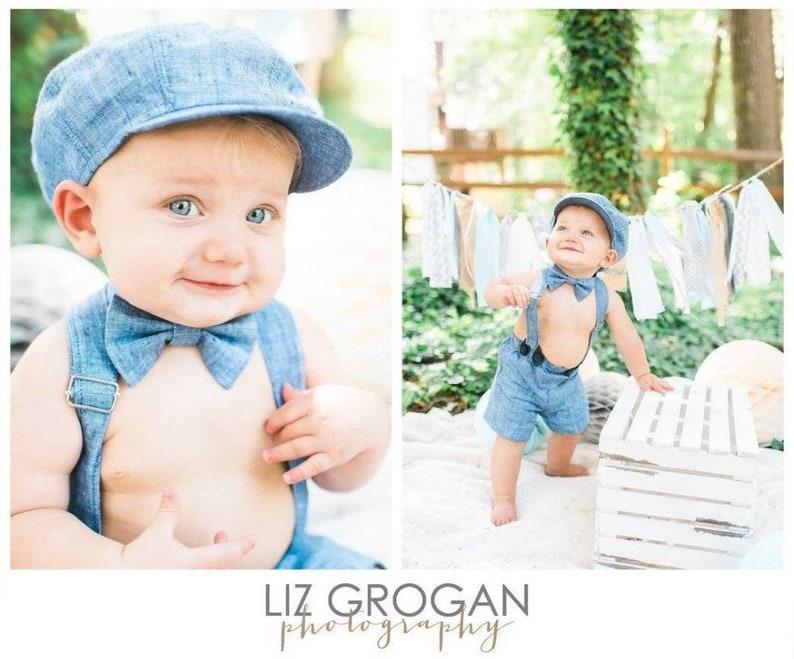 4be06f2cb Boys blue clothing set Boy newsboy cap Baby boy shorts with   Etsy