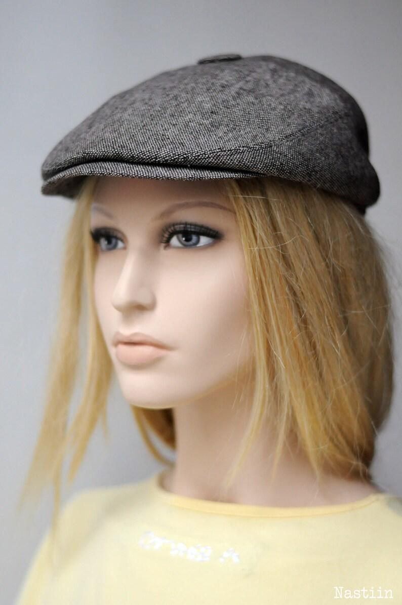 Wool newsboy hat Mens driver cap Grey newsboy cap Womens  5fe90b990f8b