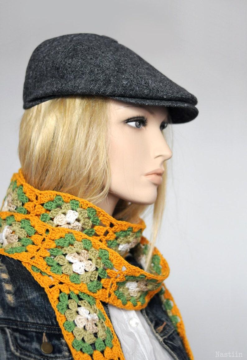 ed21a19e56c Womens grey newsboy hat Men newsboy cap Grey hat driving cap