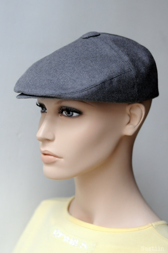 54f386566dd Boys newsboy hat Grey flat hat Newspaper boy cap Toddler