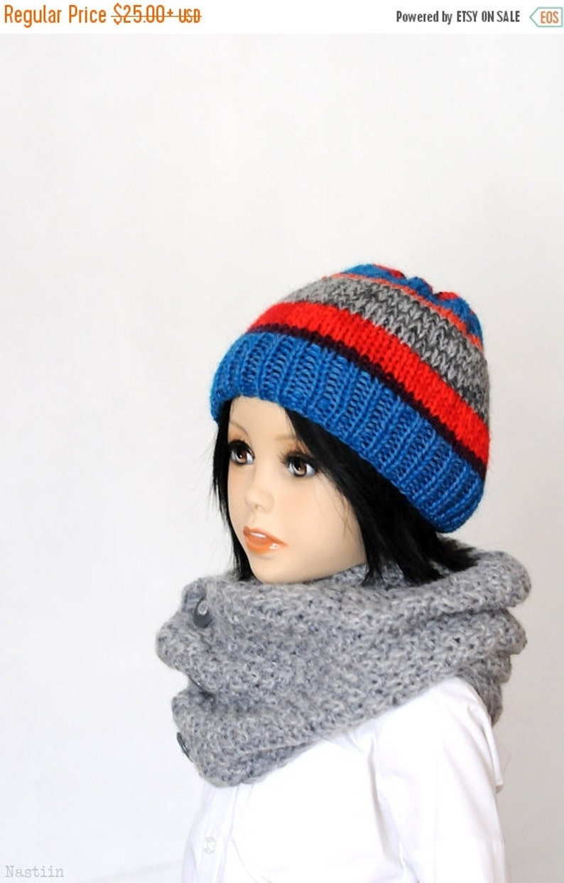 Toddler knit hat Girls knit beanie hat Boys knitted hat Baby  ce383df012a