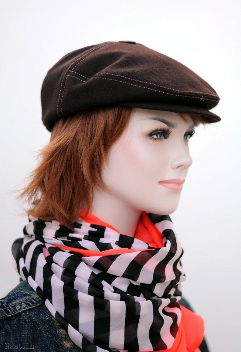 0af440fd136 Burgundy wool hat Womens newsboy cap wine Girl newsboy hat