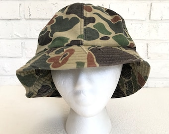 282608fac1512 Vintage Camouflage Army Hat
