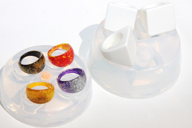 Moule en silicone pour les les les tailles de résine bague - fabrication de bijoux - bague - 6 7 8 9 (167) 77dea3