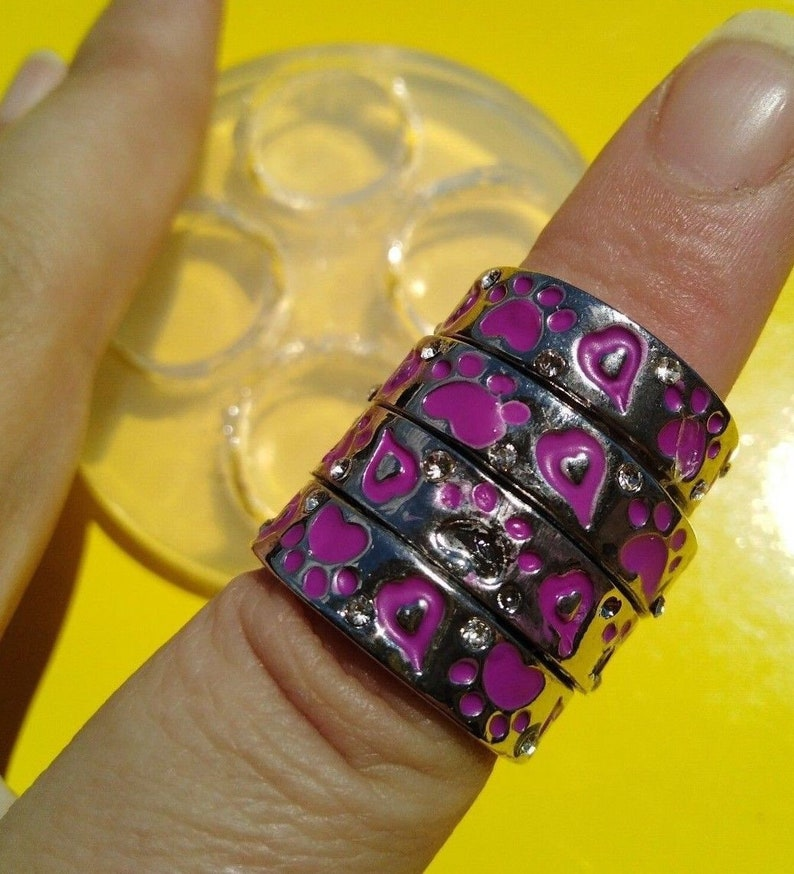 Sizes 6.5 to 7.5 Jewelry Mold for Rings