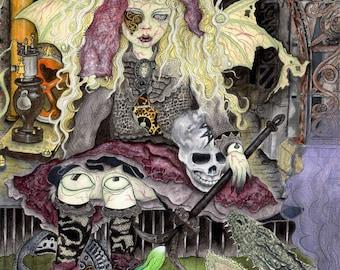 Nesseti Underworld Beginnings- Large Print