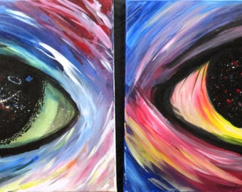 Trippy Eyes Print
