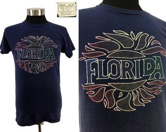 1fac762d01e5fd Vintage 70s 80s FLORIDA T-Shirt LARGE | Vacation Palm Beach Resort Surf L  Soft & Thin Gulf Hippie tropical destination fla fl orlando sun