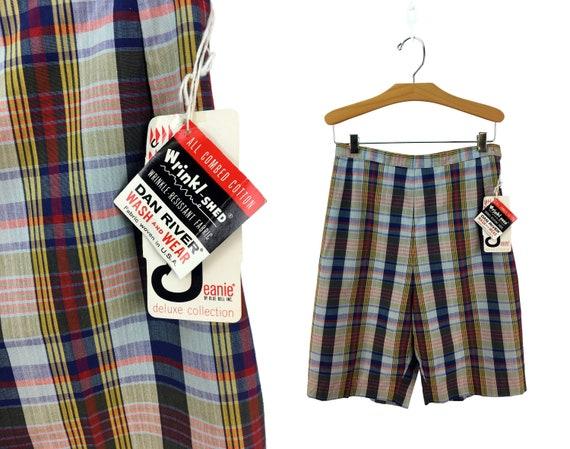 Vintage 60s Jeanies High-Waist Bermuda Shorts Miss