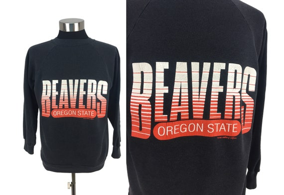 Vintage 1988 Oregon State Beavers Pull-Over Sweats