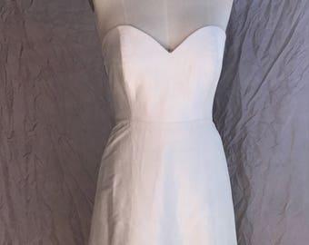 Strapless wedding dress 'Halo'