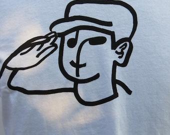 Unisex Salute on T-Shirt